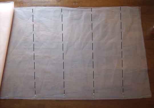 Правильные замеры материала для создания юбки.