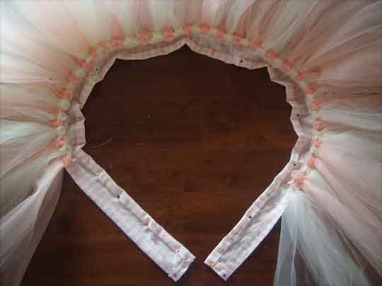 Как сделать пояс для юбки туту