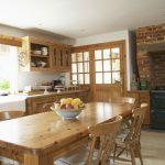 Кухня из экологических материалов