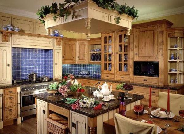 Аксессуары для кухни в деревенском стиле