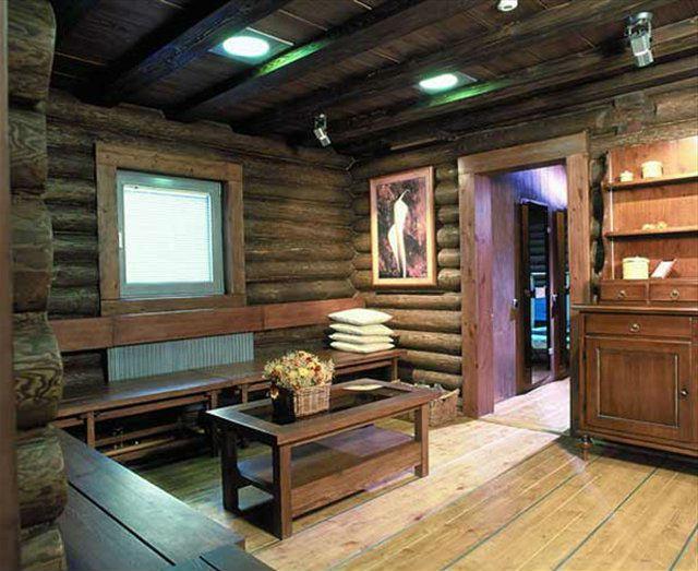 Кухня из деревянных материалов