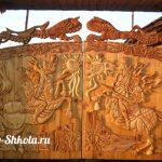 Как сделать деревянные ворота своими руками (фото, видео, чертежи)