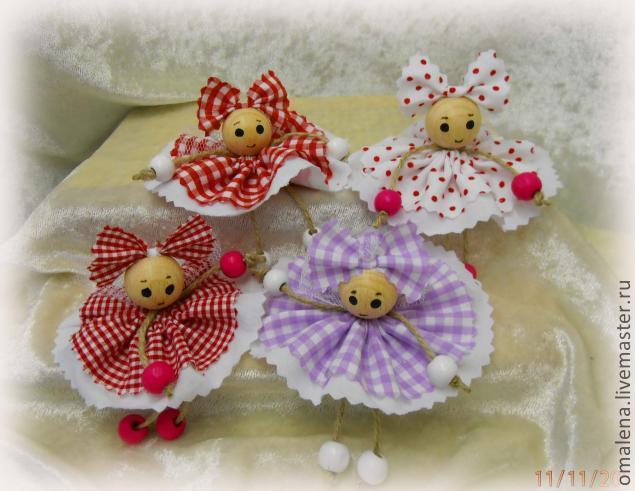 Четыре готовых куколки