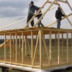 Быстрая стройка каркасного дома