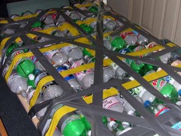 Бутылки для плота