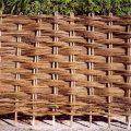 Ограда из лозы